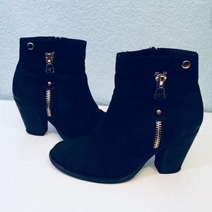 ALDO Black Booties Shoes NWOT
